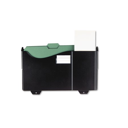 Grande Central Filing System (Universal Add-On Pocket for Grande Central Filing System, Plastic, Black -UNV08136 )