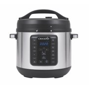 Crock Pot 8 Qt 8-in-1 Multi-use Express Crock Programmable Slow Cooker, Pressure Cooker, Saute, and Steamer, Stainless Steel