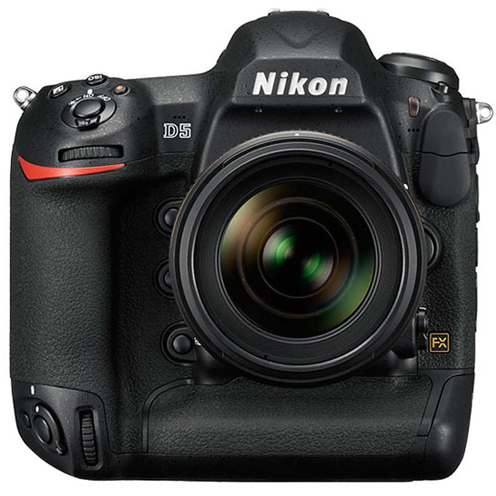 Nikon D5 20.8MP FX-Format Digital SLR Camera Body 1558 (CF Version) (Certified Refurbished) by Nikon