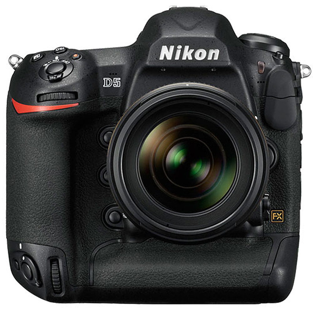 Nikon D5 20.8MP FX-Format Digital SLR Camera Body 1558 (CF Version) - (Certified Refurbished)