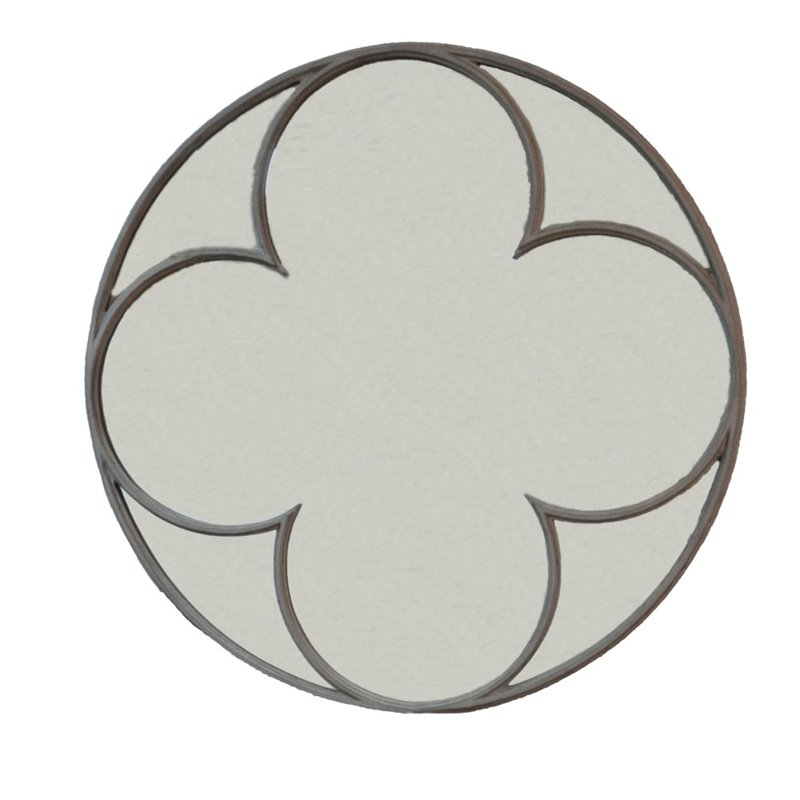 Carolina Classics Ethan Quatrefoil Mirror by Carolina Chair and Table Company