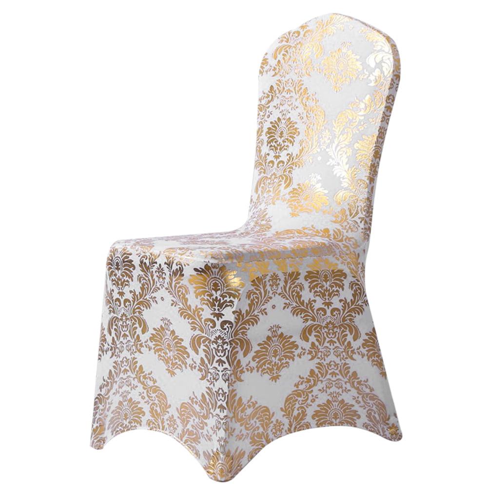 Universal chaise salle à manger Housses De Siège Slip Stretch Mariage Banquet Fête amovible