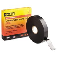 3M Scotch 130C Linerless Splicing Tape, 3/4' x 30ft