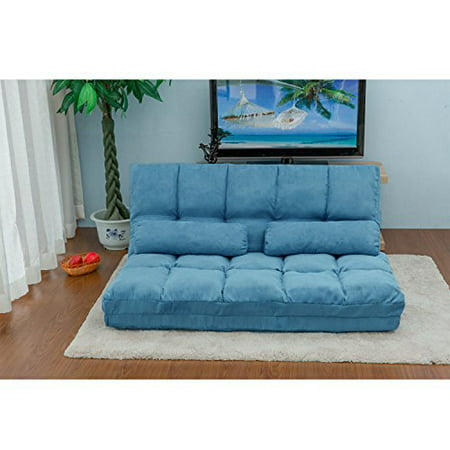 Marvelous Folding Floor Sofa Futon Chaise Lounge Sofa Gaming Chair Floor Couch With 2 Pillows Adjustable Floor Sofa And Couch Sleeper Sofa Bed Lazy Sofa Theyellowbook Wood Chair Design Ideas Theyellowbookinfo