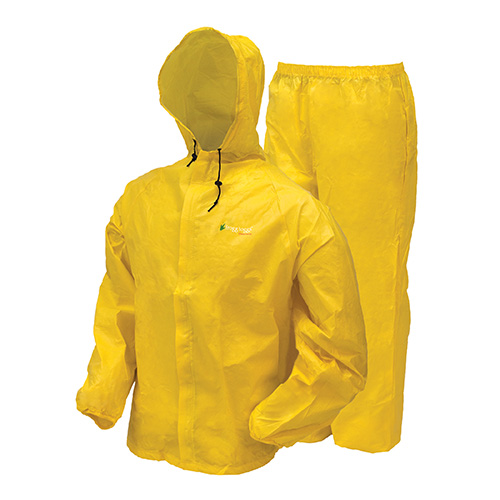 Frogg Toggs Ultra-Lite2 Rain Suit w Stuff Sack XL-Yw SKU: UL12104-08XL with Elite Tactical Cloth by Frogg Toggs