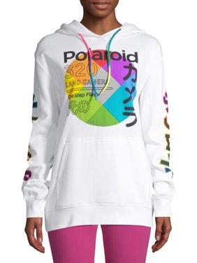 Polaroid Juniors' Boyfriend Graphic Hoodie