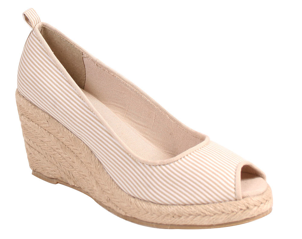Nomad Women's ANCHOR Natural Wedges Fashion Wedges Natural 9 M 4a8582