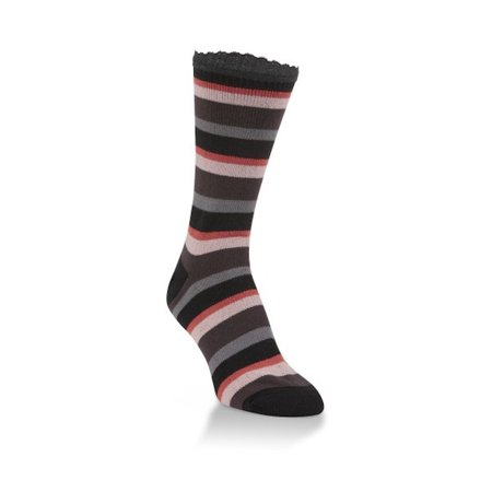 World's Softest Socks - Everyday Collection - Jazz Crew - Eclipse Stripe