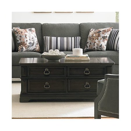 Standard furniture garrison coffee table with lift top - Standard coffee table height ...