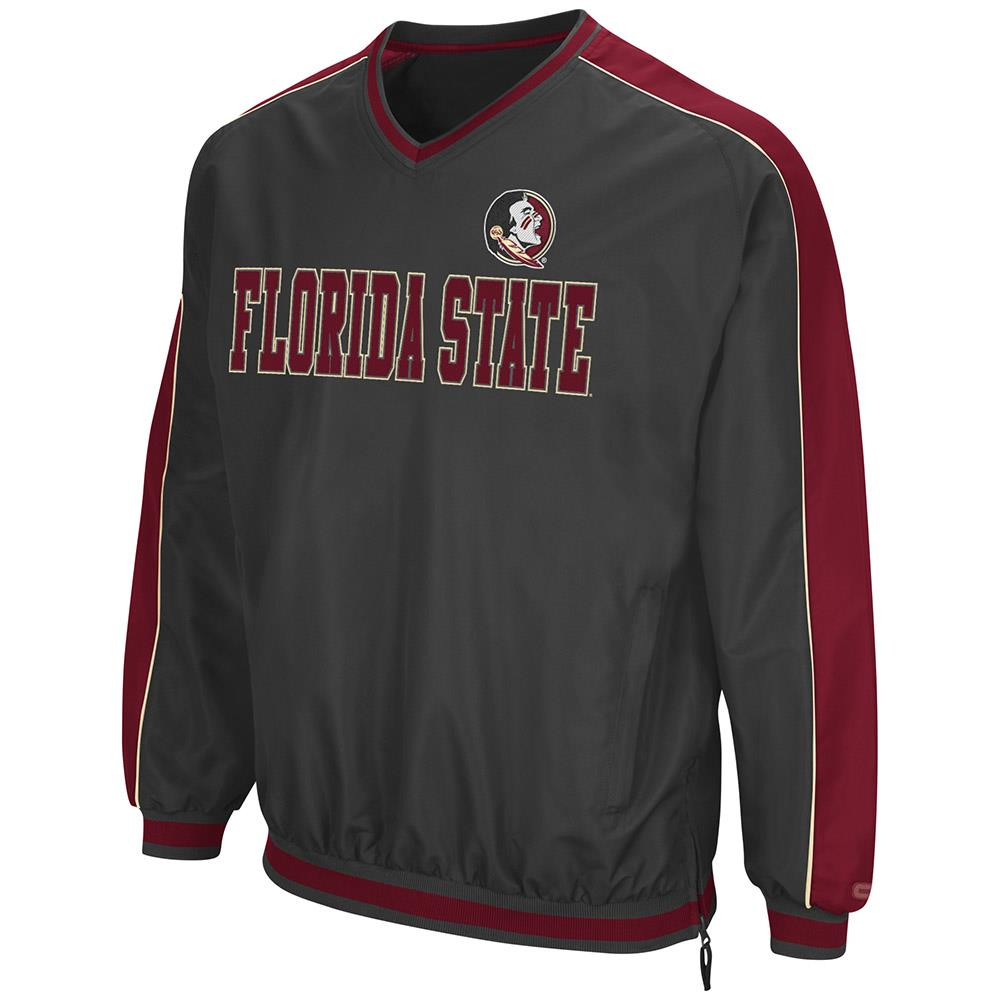 Mens Florida State Seminoles Attack Line Wind Breaker Jacket by Colosseum