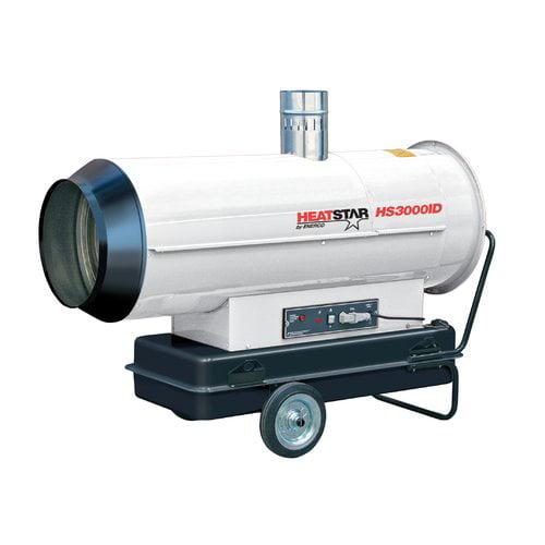 Heatstar Indirect Fired 300,000 BTU Portable Propane Forced Air Utility Heater
