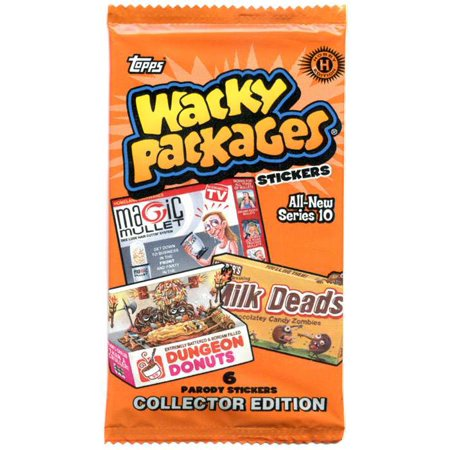 Wacky Packages Series 10 Collector Edition Hobby Pack