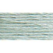 DMC Pearl Cotton Skein Size 3 16.4yd-Very Light Grey Green