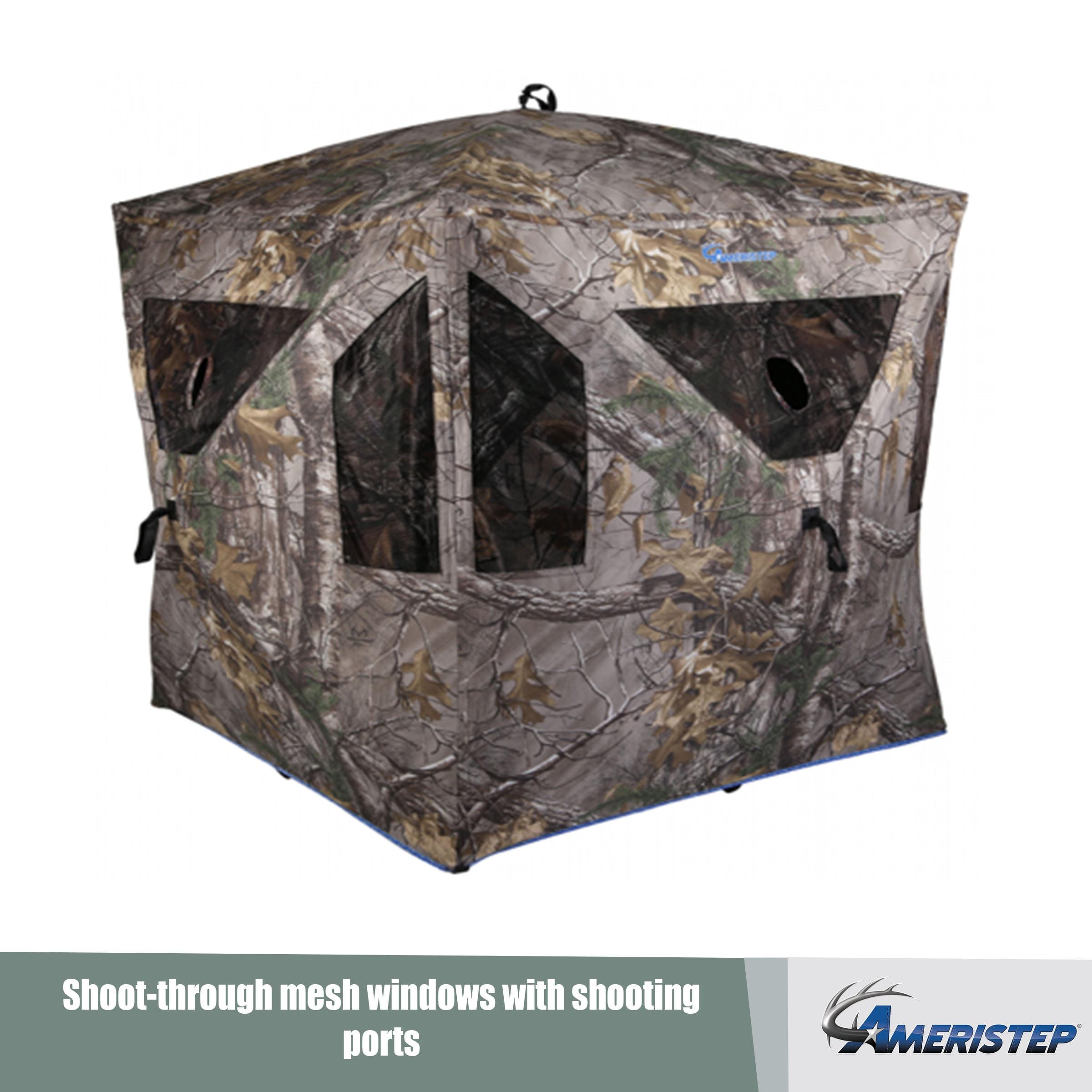 Ameristep Legend Hub Deer Hunting Blind With Shadowguard