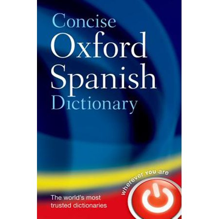 Lexicon Spanish Dictionary - The Concise Oxford Spanish Dictionary