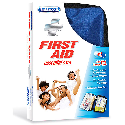 Physicians Care All Purpose Soft Sided First Aid Kit, 95pc