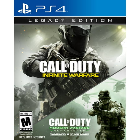 Call of Duty: Infinite Warfare Legacy Edition, Activision, PlayStation 4, - Call Center Halloween Games
