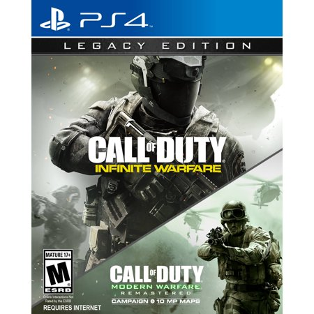 Call of Duty: Infinite Warfare Legacy Edition, Activision, PlayStation 4,