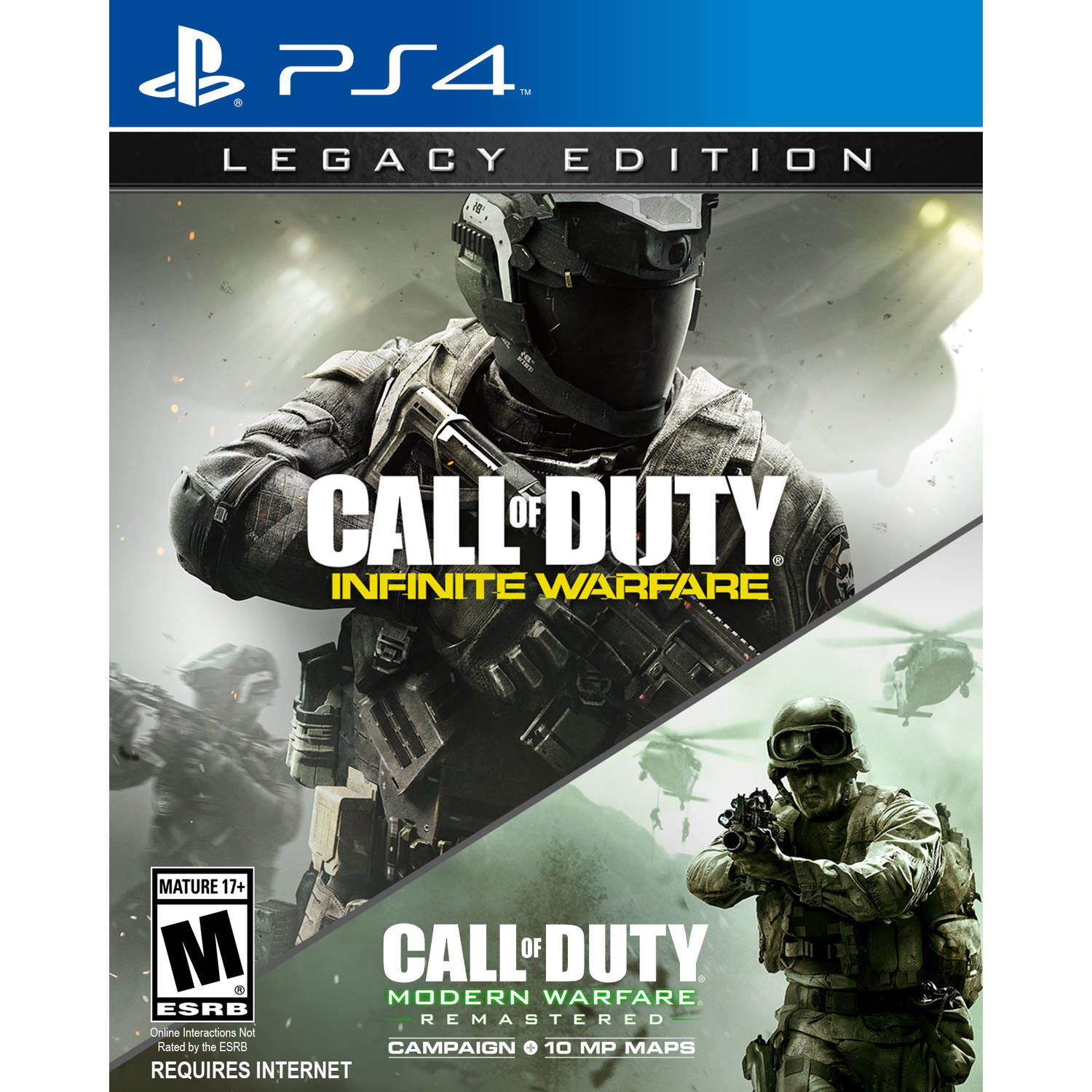Call of Duty: Infinite Warfare Legacy Edition, Activision, PlayStation 4, 047875878570