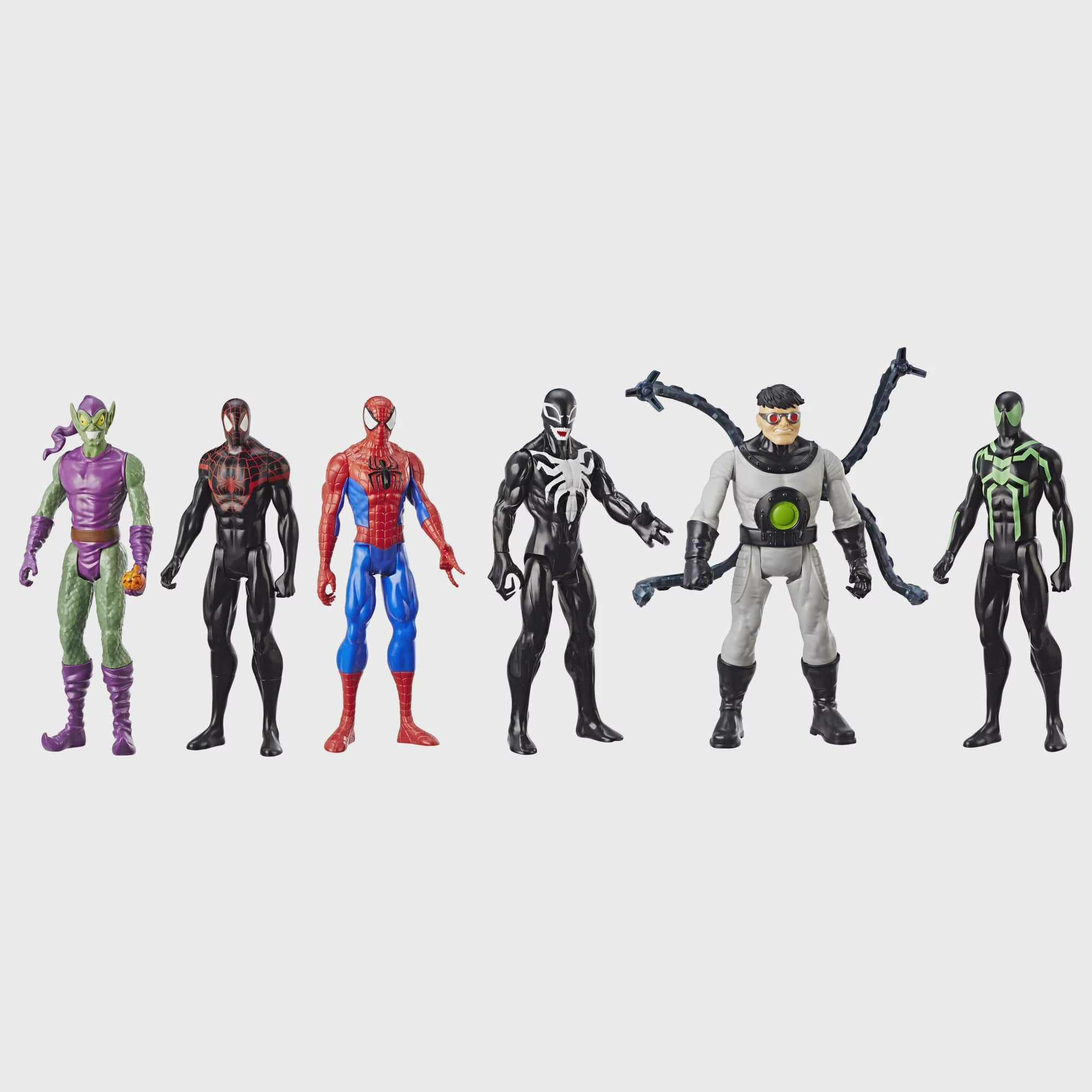 Spider-Man Titan Hero Figure 6-Pack - Walmart Exclusive