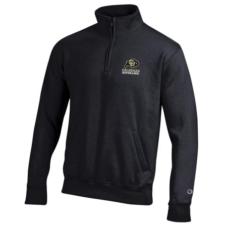 University Of Colorado Buffaloes (University of Colorado Buffaloes 1/4 Zip Jacket Champion ECO Quarter)