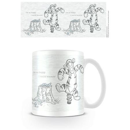 Tigger And Pooh Happy Halloween (Winnie The Pooh -Ceramic Coffee Mug / Cup (Tigger: I'm so happy I could)