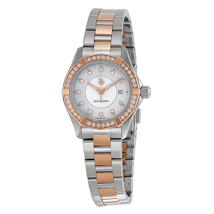 Tag Heuer Aquaracer Mother of Pearl Dial Ladies Watch WAP1452.BD0837