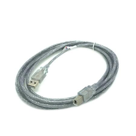 Kentek 10 Feet FT USB DATA PC Cable Cord For RANE SL1 SL2 SL3 SL4 SERATO SCRATCH LIVE DJ Interface -