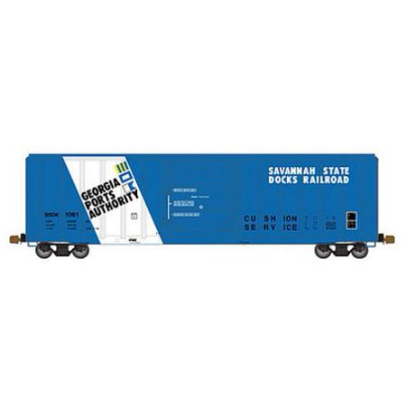 Atlas 20003908 Ho Savannah State Docks Railroad Fmc 5347 Single Door Boxcar  106