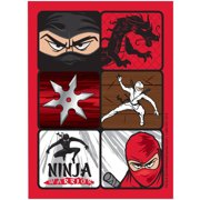 Ninja Warrior Party Sticker Sheets (4)