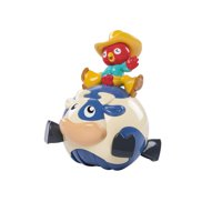 Bright Starts Rodeo Rooster Wobbling Musical Toy
