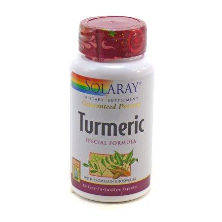 Turmeric Special Formula by Solaray - 60 (Kava Special Formula)