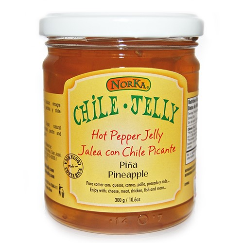 Hot Pepper Jelly by Norka Chile Jelly - Pineapple