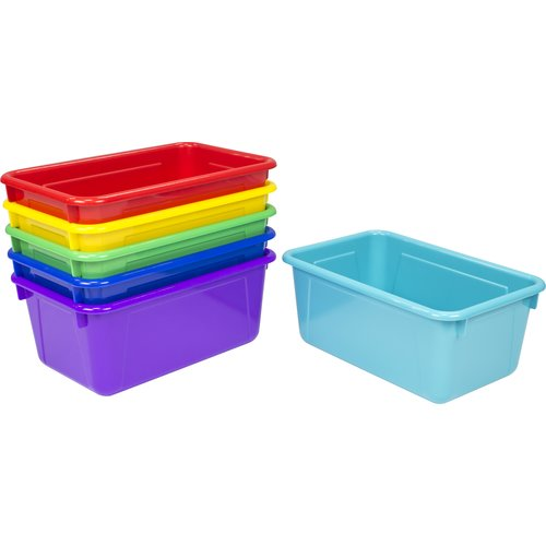 STOREX Stackable Cubby Bin (Set of 6)