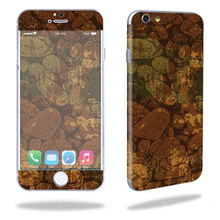 """MightySkins Skin Compatible With Apple iPhone 6/6S Cell Phone 4.7"""" Cover wrap sticker skins Biohazard"""