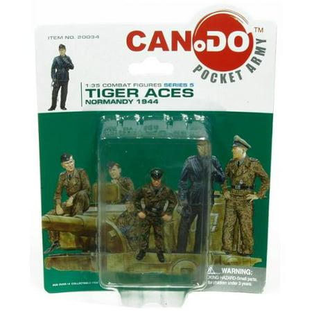 - 1:35 Combat Figure Series 5 Tiger Aces Normandy 1944 Figure E Georg