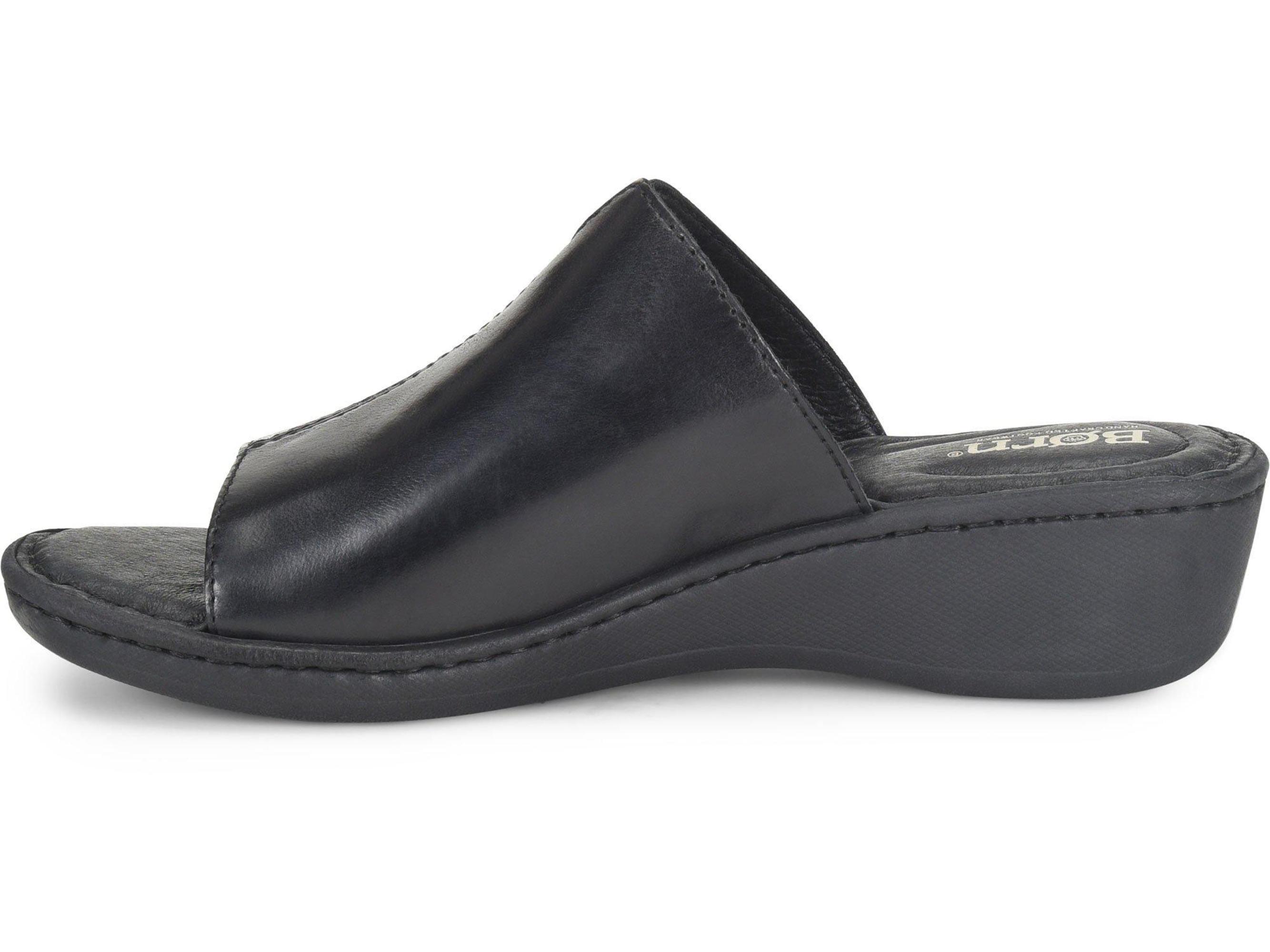 6aff10f0247 Born - Born Womens Bernt Open Toe Casual Slide Sandals - Walmart.com