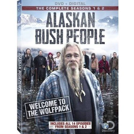 Alaskan Bush People  Seasons 1   2  Dvd   Digital Copy