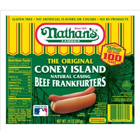 Nathan S All Natural Beef Hot Dogs
