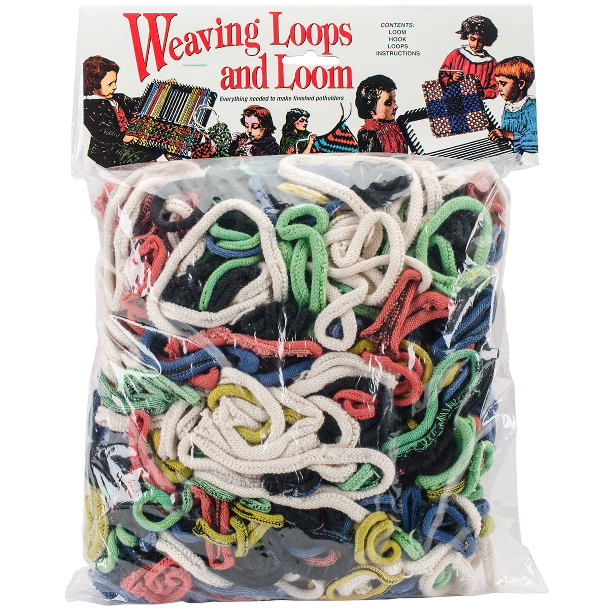 2-Pack Wool Novelty Bulk Buy Nylon Weaving Loops 16 Ounces Multi Colors 488