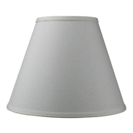 Home Concept Inc Modern Classics 14'' Linen Empire Lamp (Khaki Linen Shade)