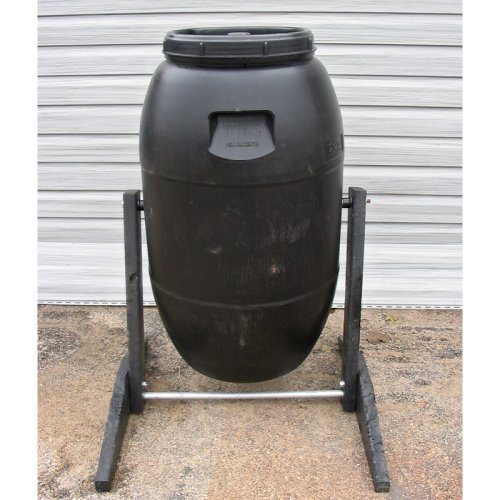 Upcycle 55 Gallon Plastic Compost Tumbler