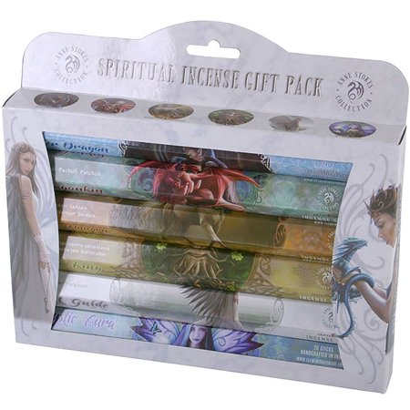 Anne Stokes Mystical Aromatic 120 Incense Sticks Gift Pack 6 tubes x 20 sticks