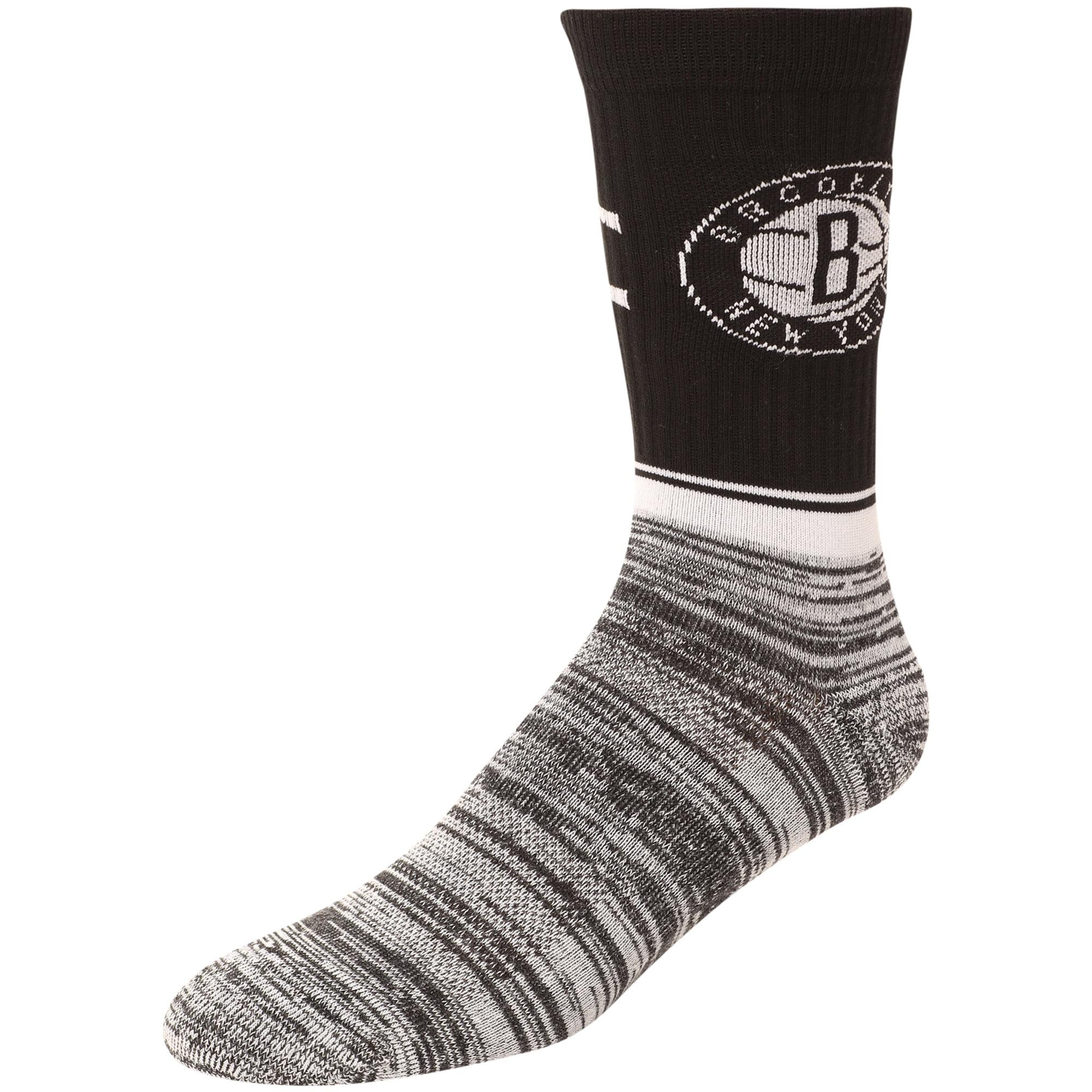 Brooklyn Nets Block Crew Socks - L