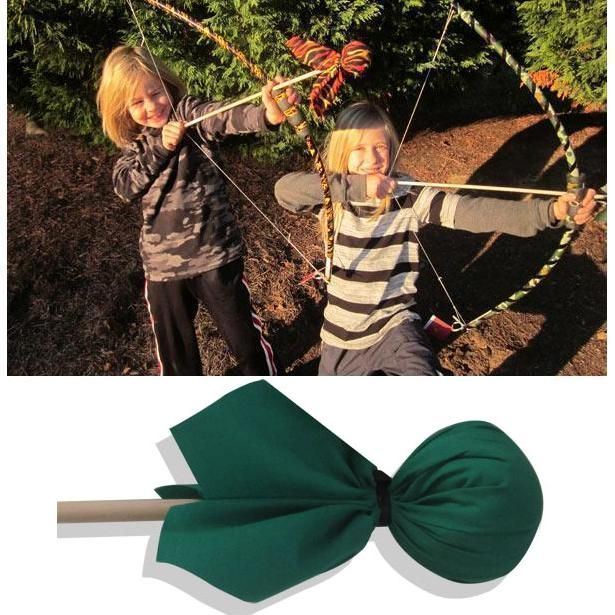 Green Arrow (Bow Sold Separately) Archery Toy by Two Bros Bows (04-GRE) by Two Bros Bows