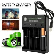 Battery Charger Universal Smart Chargers for Rechargeable Batteries Li-ion 10440 14500 16340 16650 14650 18350 18500 18650