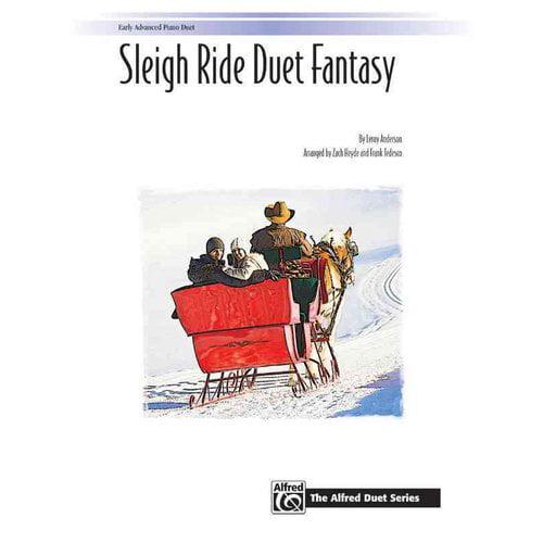 Sleigh Ride Duet Fantasy: Sheet