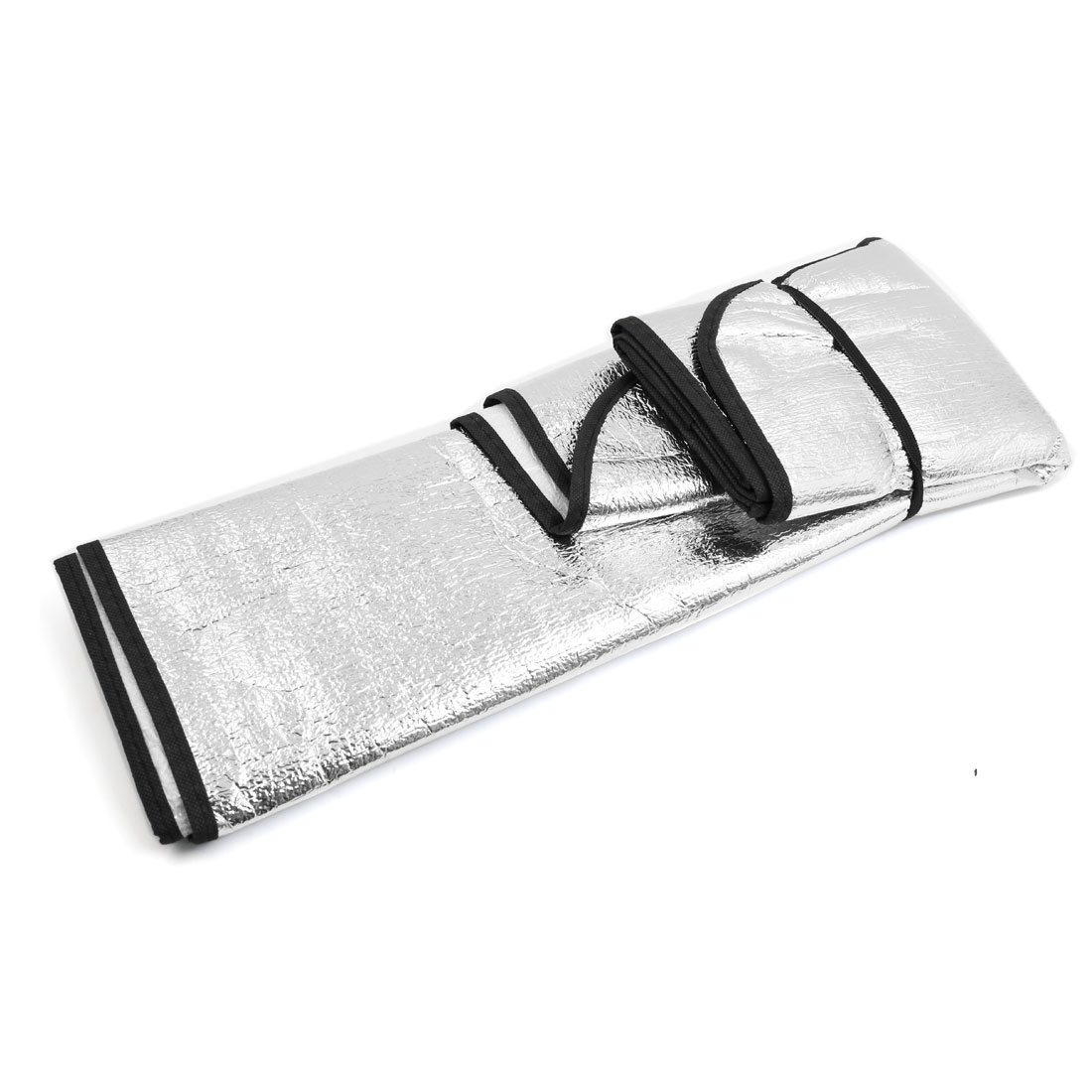 Sliver Tone Aluminum Foil Snow Heat Resistant Auto Car Windshield Sunshade - image 1 of 3