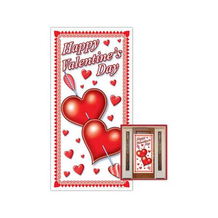Beistle - 70010 - Happy Valentines Day Door Cover- Pack of (Valentine's Day Fundraiser)