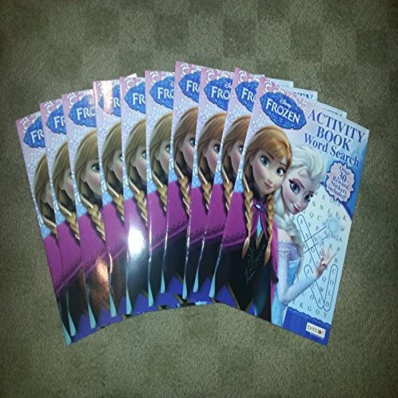 Disney Frozen Word Search Activity Books & Stickers x 10